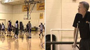 """Lakersi prowadzeni o kulach. Tęsknią za erą""""Magica"""""""