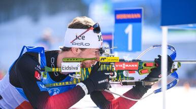 Czwarte złoto norweskiego biathlonisty w mistrzostwach świata