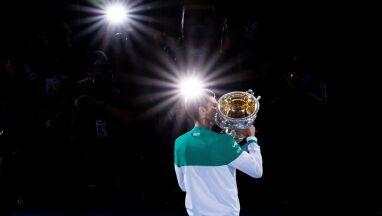 Zniewalające liczby Djokovicia. Federer i Nadal coraz bliżej