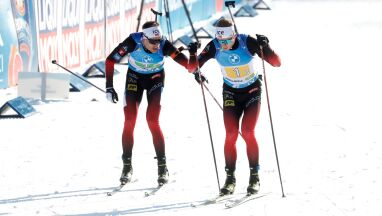 Norwegowie mistrzami. Polscy biathloniści zdublowani