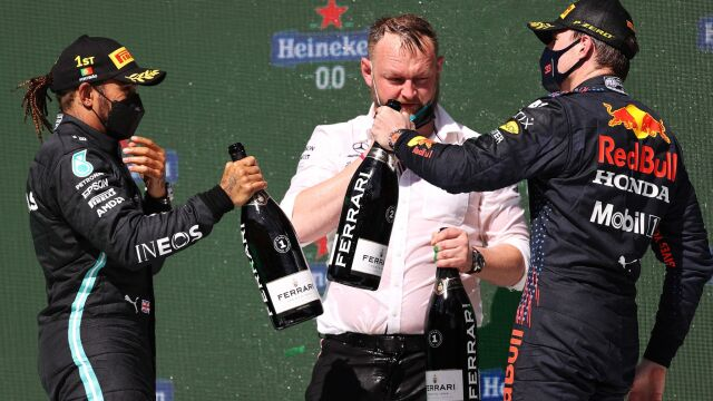 "Verstappen zdaje sobie sprawę z klasy Hamiltona. ""Nie potrzebuję do tego Nico"""