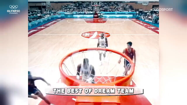 Najlepsze zagrania koszykarskiego Dream Teamu w igrzyskach olimpijskich
