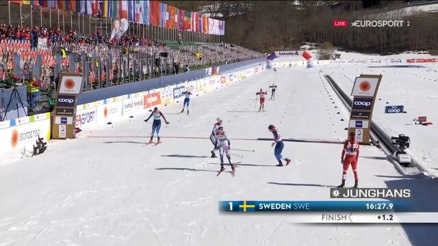 Szwedki mistrzyniami świata w sprincie drużynowym w mistrzostwach świata