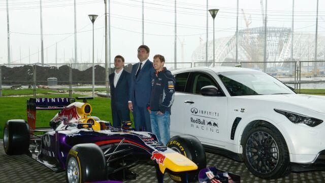 """Vettel w Soczi. """"To mój pierwszy raz w Rosji"""""""