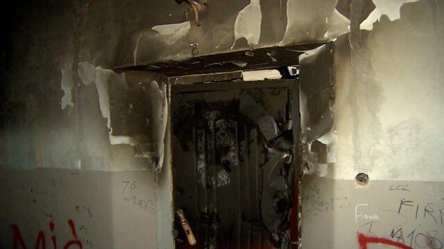 Mieszkanie doszczętnie spłonęło. Zginął człowiek i jego pies