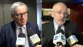Timmermans i Juncker wspominają Adamowicza