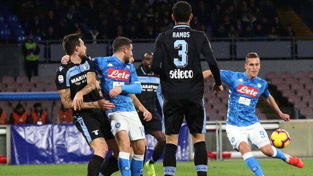 Milik obijał słupki w hicie z Lazio. Potem idealnie trafił z wolnego