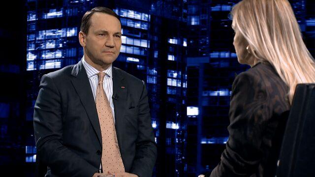 """Radosław Sikorski był gościem programu """"Kropka nad i"""""""