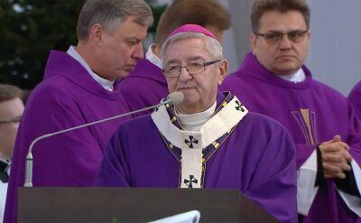 W imieniu papieża Franciszka abp Głódź przekazał rodzinie prezydenta różańce