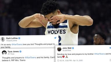 Koszykarz stracił matkę, była zakażona koronawirusem.
