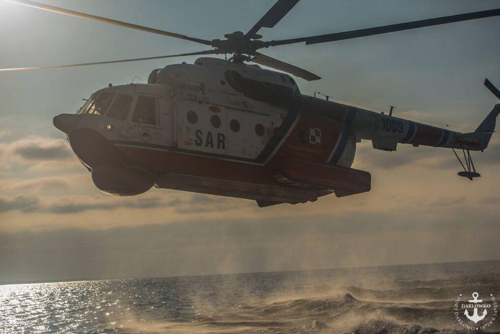 Śmigłowiec Mi-14 PŁ/R na minimalnej wysokości