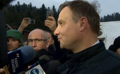 Dokumenty znalezione u Kiszczaka. Prezydent: ile takich domów jest jeszcze w Polsce?