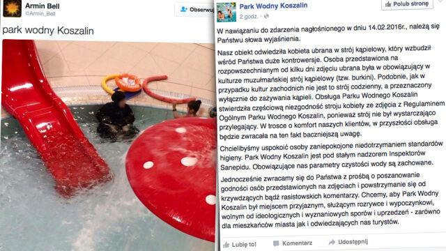 Zdjęcie muzułmanki na basenie wywołało falę hejtu. Park wodny odpowiada