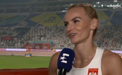 Święty-Ersetic po awansie do półfinału biegu na 400 m