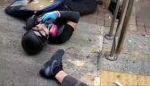 Hongkoński aktywista postrzelony z ostrej amunicji przez policjanta