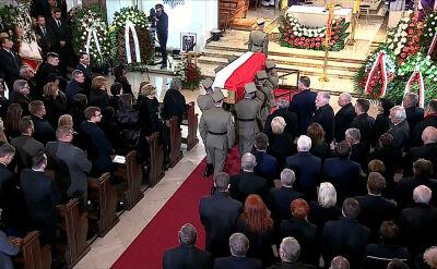 Rozpoczęły się uroczystości pogrzebowe Kornela Morawieckiego. Spocznie na Powązkach