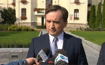 Ziobro: Markiewicz powinien w pierwszej kolejności pozwać samego siebie
