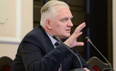 Gowin przed komisją: Tusk miał pretensje do szefa ABW