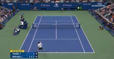 Skrót meczu Koepfer – Miedwiediew w 2. rundzie US Open