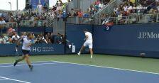 Kapitalny tweener Hurkacza w meczu 1. rundy debla mężczyzn w US Open
