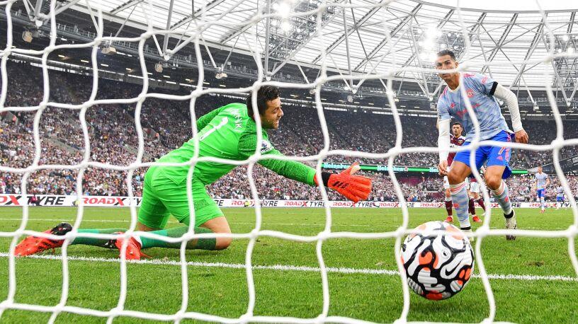 Ronaldo znalazł sposób na Fabiańskiego. Świetny mecz w Londynie
