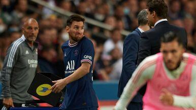 PSG wygrało, Leo Messi nie podał ręki trenerowi