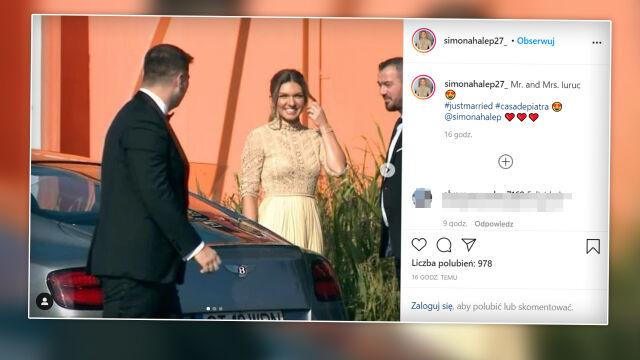 Simona Halep wzięła ślub. Piękna uroczystość nad Morzem Czarnym