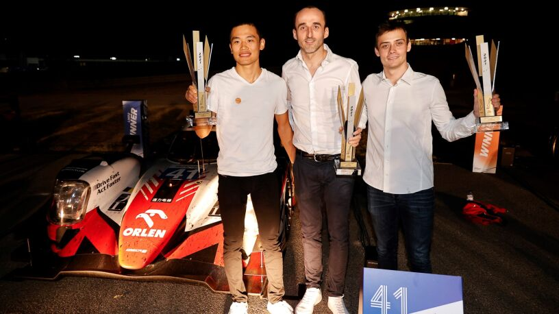 Kubica z podium na zakończenie mistrzowskiego sezonu. Czeka go jeszcze jedno wyzwanie