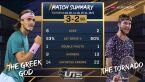 Tsitsipas pokonał Mouteta w Ultimate Tennis Showdown