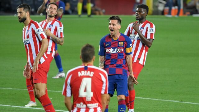 Talizman Atletico redukuje szanse Barcelony na obronę tytułu