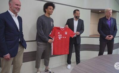 Leroy Sane został piłkarzem Bayernu