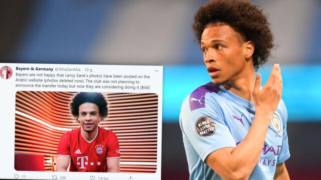 """""""Daily Mail"""": Bayern przeprosił za zdjęcia Sane"""