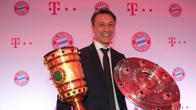 """Krytykowany Kovac z podwójną koroną w Niemczech. """"Siła mentalna kluczem do sukcesu"""""""