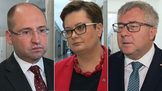 Kaczyński i Morawiecki odwiedzają Przyłębską. Czarnecki: trochę się martwię, nikt mnie nie zaprosił