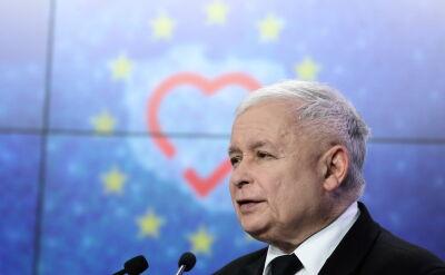 """Kaczyński o publikacji """"Wyborczej"""" na temat działki Morawieckiego"""