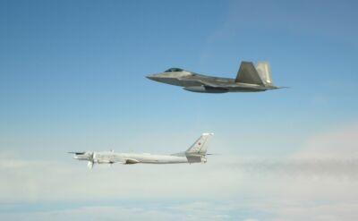 Rosyjskie bombowce i myśliwce przechwycone w pobliżu Alaski
