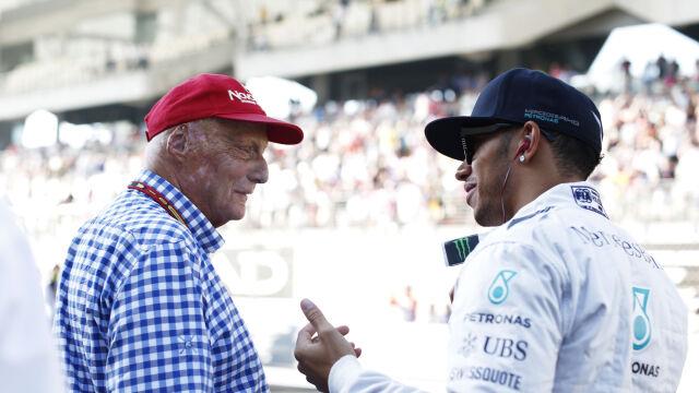 """Pięciokrotny mistrz świata żegna Laudę. """"Kocham cię, stary"""""""