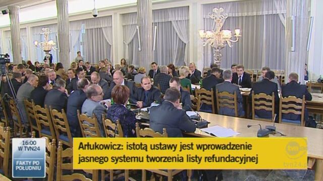Arlukowicz:tak się zmienia system i tworzy listę/TVN24