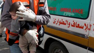 Izraelska piechota wkroczyła w sobotę do Strefy Gazy