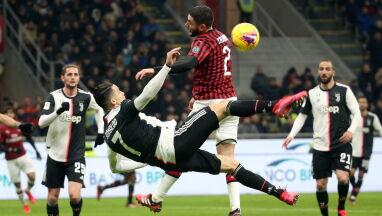 Ronaldo ocalił Juventus. Milan ma czego żałować
