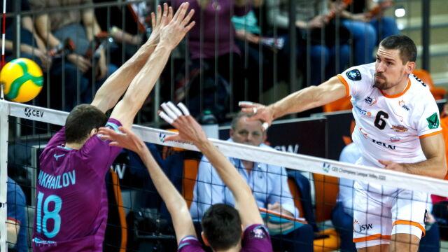 Wielki Zenit pokonany. Jastrzębski w ćwierćfinale Ligi Mistrzów