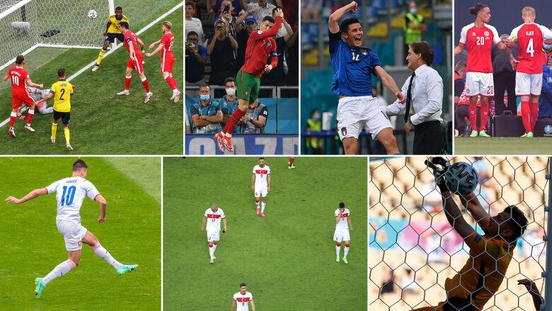 Kosmiczne gole, huśtawka nastrojów i dramat na boisku. Faza grupowa Euro 2020 w pigułce