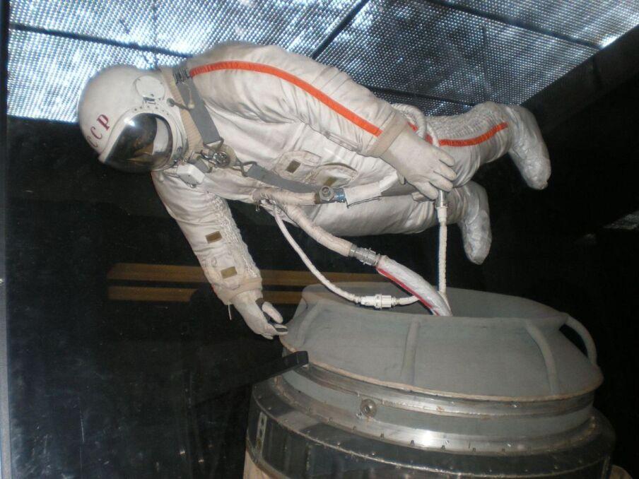 Skafander, w którym Aleksiej Leonow wykonał pierwszy spacer kosmiczny