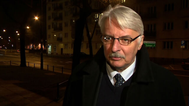 Waszczykowski: nie uciekamy od spotkania z Komisją