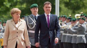 Merkel zadowolona z ogłoszenia zawieszenia broni na Ukrainie