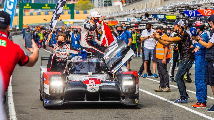 Hat-trick Toyoty w 24h Le Mans. Do pełni szczęścia zabrakło kibiców