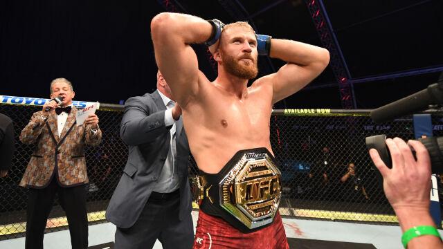 Wielki sukces Jana Błachowicza. Polak z mistrzowskim pasem UFC