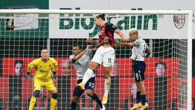 Pewna wygrana Milanu. Zlatan skutecznie nękał Skorupskiego