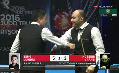 Ding Junhui awansował do trzeciej rundy European Masters
