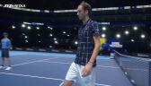 Miedwiediew pokonał Zvereva w fazie grupowej ATP Finals